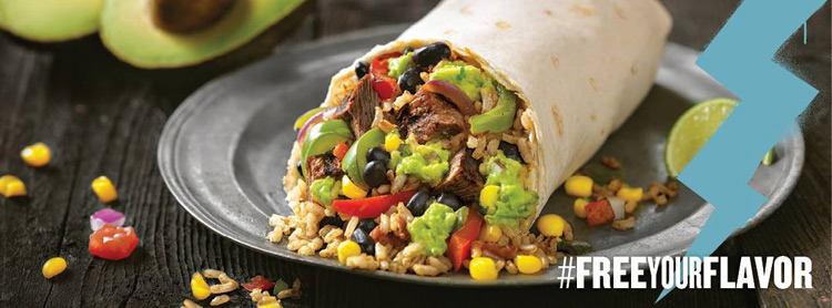 Qdoba Free Your Flavor - Extras Aren't Extra