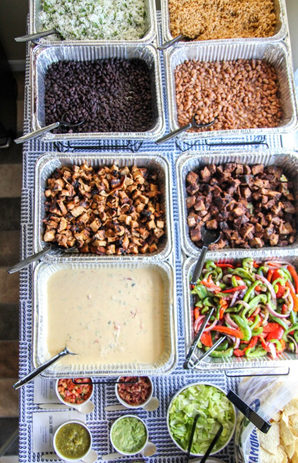 Qdoba Catering Burrito Taco Nacho Bar Mexican Food