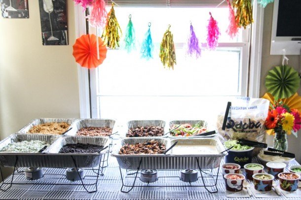 Qdoba Catering Cinco De Mayo Party Easy Mexican Catering