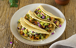 QDOBA Signature Eats - 3 Street Style Chicken Tacos