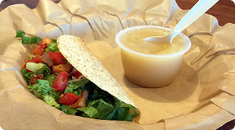 Qdoba Mexican Food Wisconsin - Kids Taco Meal