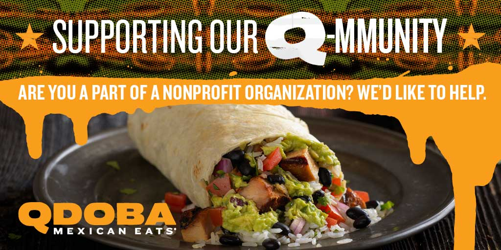 Fundraising Opportunities at QDOBA