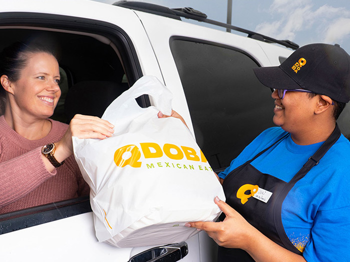 Qdoba Wisconsin is open for business and offering limited-contact curbside pick-up